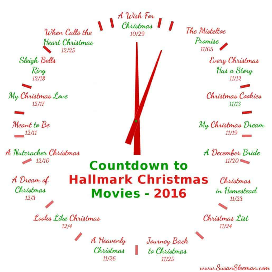 hallmark christmas movie 2016 schedule susan sleeman